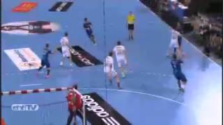 Handball #1 Amazing goal vs CHEKHOVSKIE MEDVEDI !