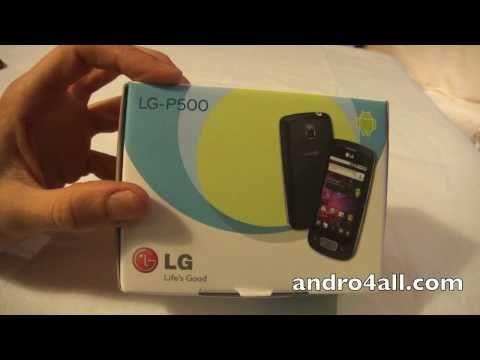 Unboxing LG Optimus One [HD] [ESPAÑOL]