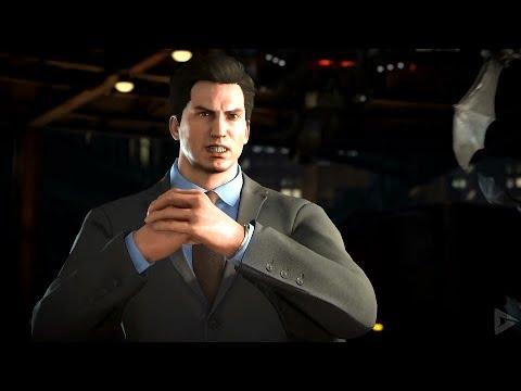 INJUSTICE 2 All BRUCE WAYNE Intros (Dialogue & Character Banter) TMNT 1080p HD