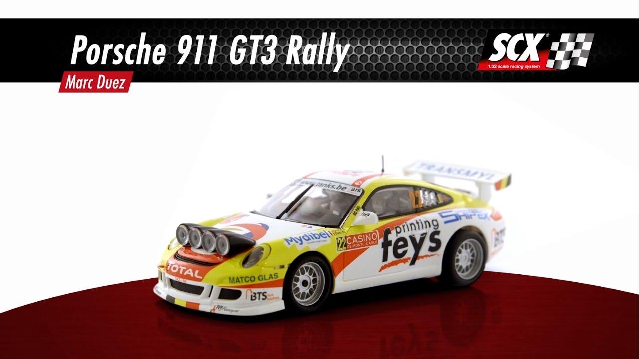 SCX Porsche 911 Rally