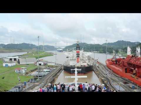 Panama Canal time lapse