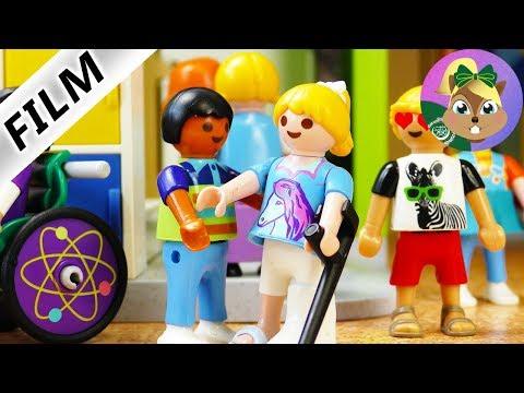 بلايموبيل فيلم | من يحب هنا ؟ من بيغير على هنا في المدرسة. فيلم للأطفال