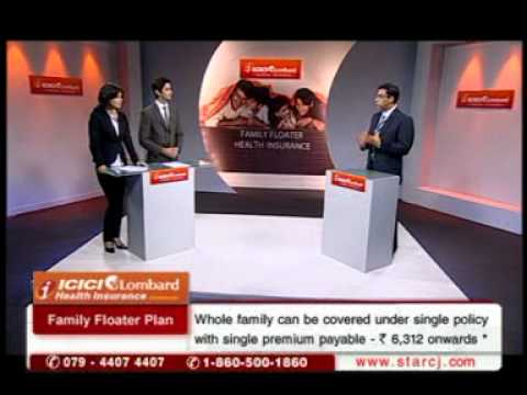 ICICI Lombard Family Floater Health Insurance - YouTube