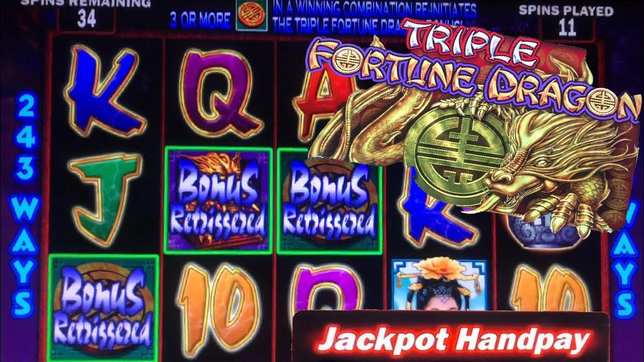 Triple Fortune Dragon Jackpot