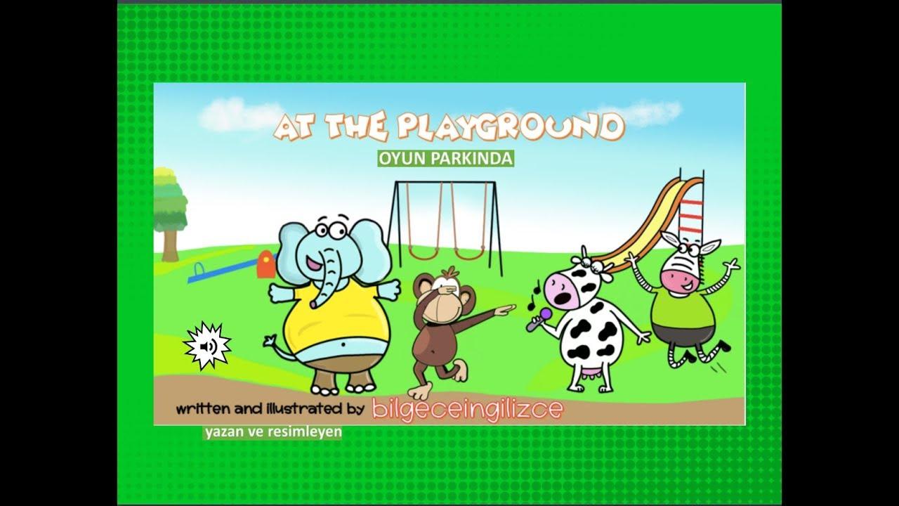 At the Playground (2.sınıflar için İngilizce Hikaye)