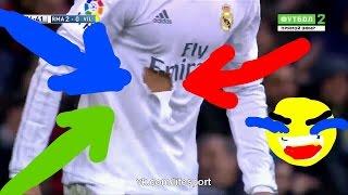 Смешной эпизод с участием Криштиану Роналду!!! С футболкой [Cristino Ronaldo] FUNNY MOMENT(Роналду дали футболку Серхио Рамоса вместо своего))), 2016-04-21T12:44:35.000Z)