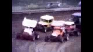 Central Nebraska Supermodified racing in the early 1970s