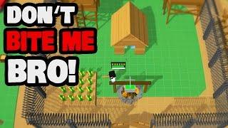 Don't Bite Me Bro! Gameplay German - Elektro Festung aufgebaut