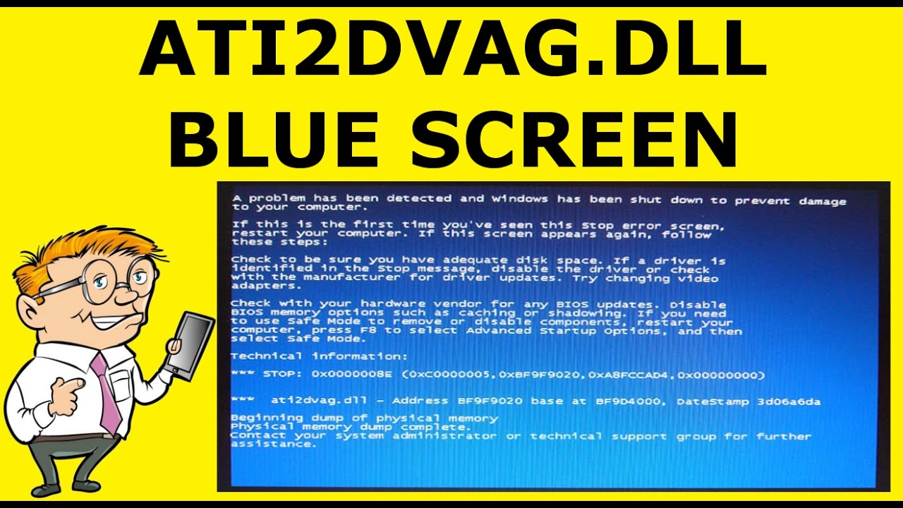 how to solve blue screen of death