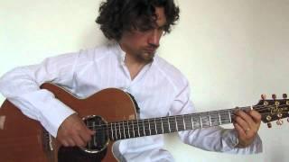 """""""Mentre tutto scorre"""" (Negramaro) per sola chitarra acustica - Mauro Stella"""