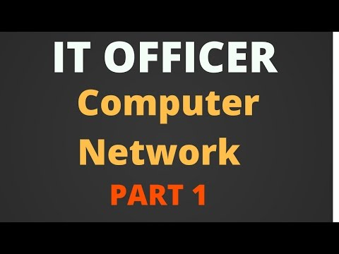 computer network part 1 - it officer [Hindi]
