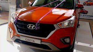 2018 Hyundai Creta 1.4 S Variant Passion Orange Color !!