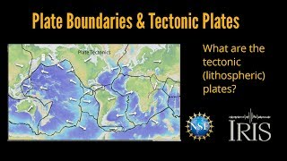 Plate Boundaries & Tectonic plates (Educational)