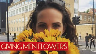 This Is What Happens When A Woman Gives Men Flowers