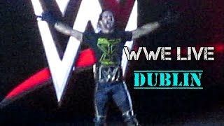 WWE Live Dublin - Seth Rollins vs Kane - No Holds Barred Match (November 4th 2015, 3 Arena)