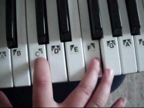 How To Play Axel F On Piano Easy Youtube