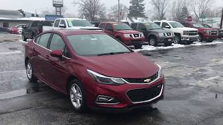 2018 Chevrolet Cruze LT Sedan with RS Package and Sunroof!