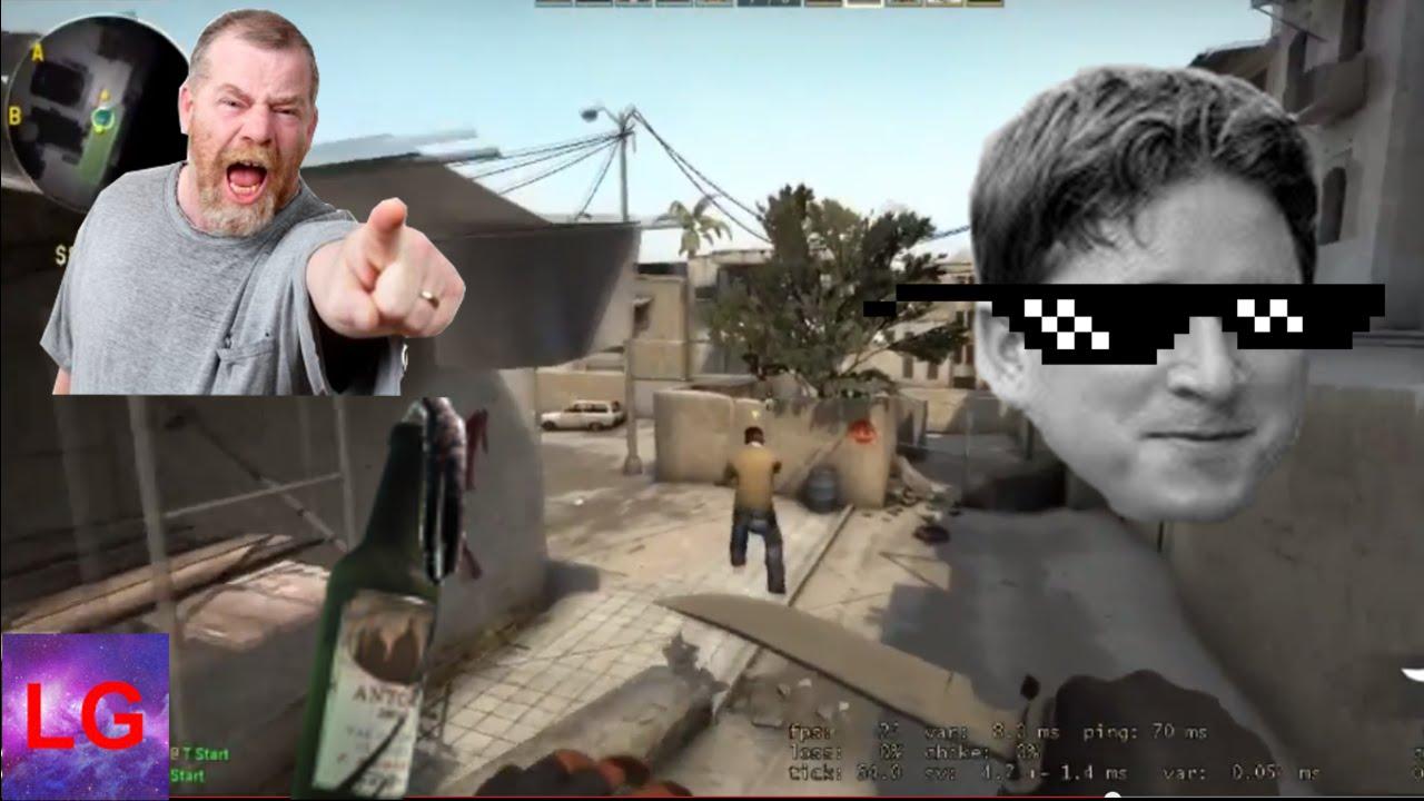 Dank Memes Tactical Molotov Angry Dad Cs Go Funny Highlights