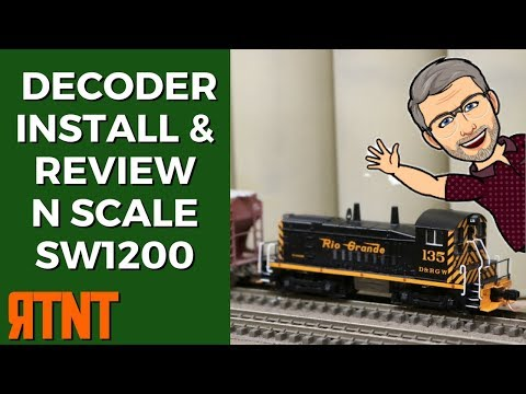 DCC Decoder Installation and Locomotive Review
