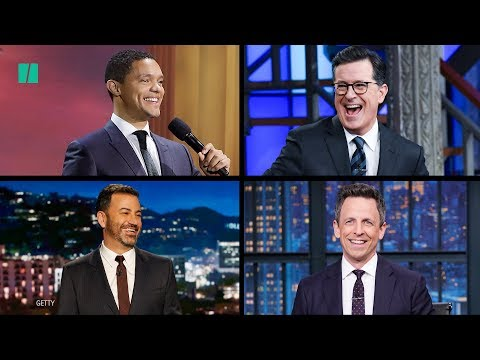 Late Night Comedians Take On State Of The Union