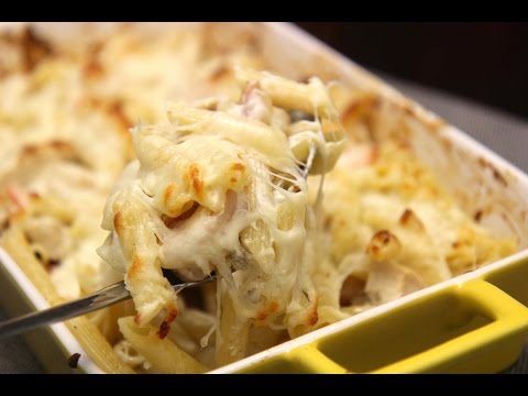 Chicken And Shrimp Pasta Bake - Cooked By Julie Episode 284