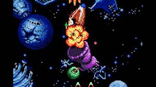 Galaga - Destination Earth (GBC) 2000 - GamePlay