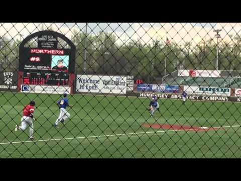 Danny Beizer 3 13 16 vs Northern Oklahoma College   Enid Oklahoma   Game 1   5 Pitch 3 Out Save 605C