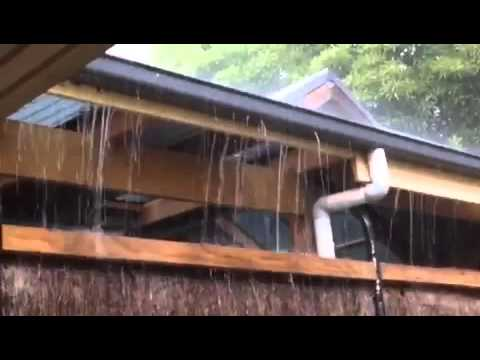 Gutters Overflowing Causing Damage To Roof Timbers