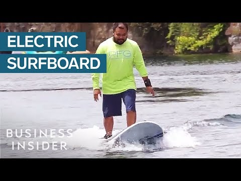 Electric Surfboard Lets You Surf Without Waves