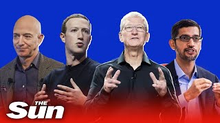 Live: CEOs of Amazon, Apple, Facebook and Google face antitrust hearing
