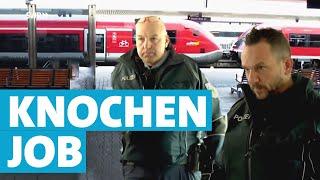 Der Knochenjob eines Bundespolizisten