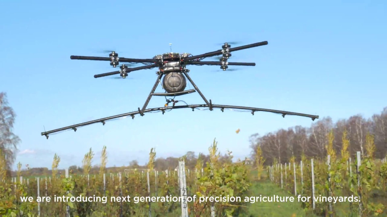 Drone Technology for Precise Pesticide Spraying | Drone Below