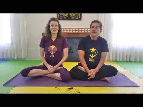 surya namaskar  5 niveles del adhyatma yoga  youtube