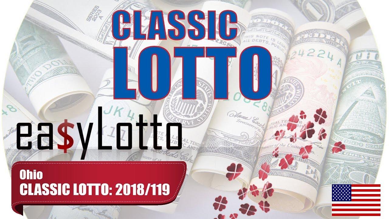 Ohio lottery classic lotto prizes in philippines