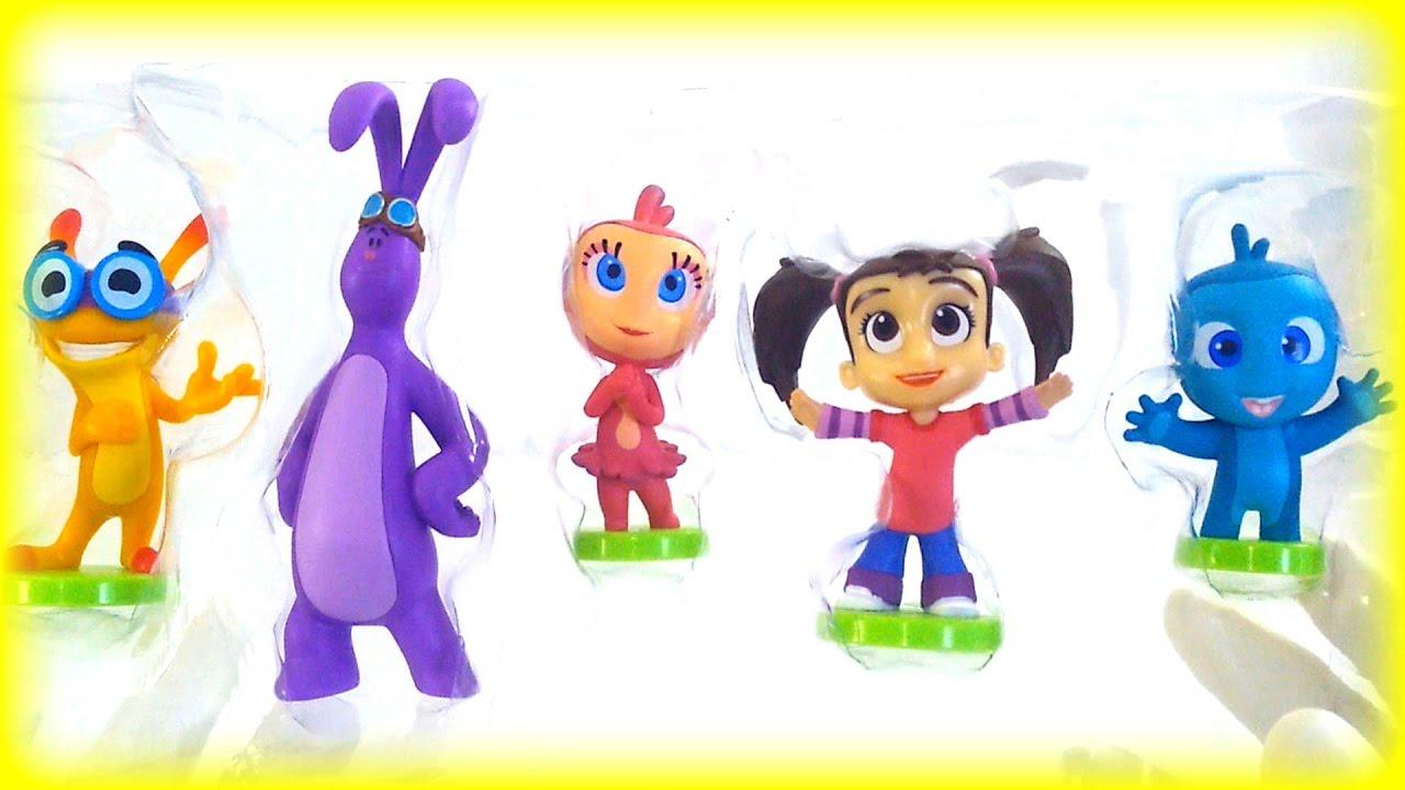 Opening Disney Junior Kate & Mim-Mim Toys playset for Kids ...