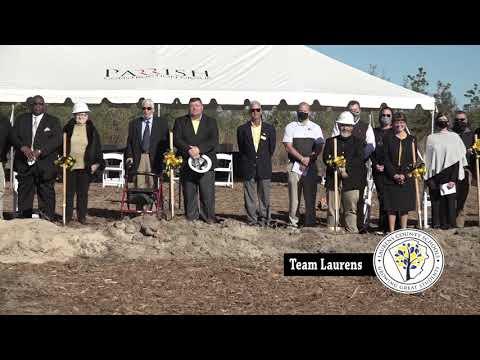 New East Laurens High School Groundbreaking Ceremony