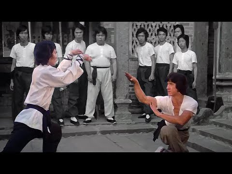 "Джеки Чан (Чиен Фу) ""кулак змеи"" против ""богомола"" 