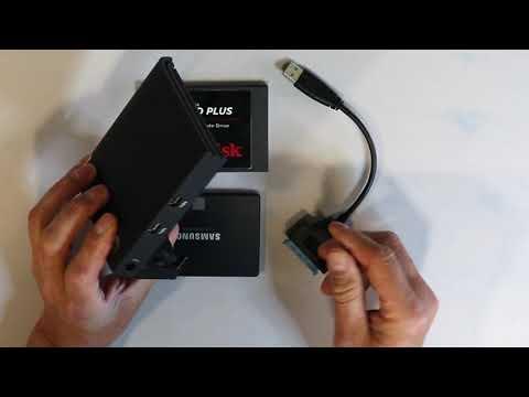 Speed test three SSD drives USB3 v Thunderbolt and internal drive