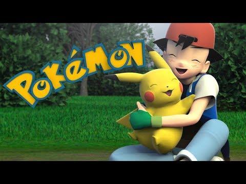 Pokemon Song Deutsch 3D Animation