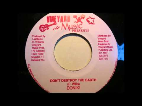 Doniki - Don't destroy the Earth & dub version