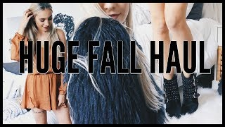 HUGE Fall Try-On Haul