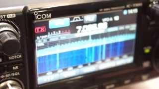 ic 7300の実力 icom hamfair2015特集その2 ハムフェア2015