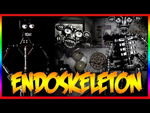 "FIVE NIGHTS AT FREDDY'S 2 ENDOSKELETON ""SECRET CHARACTER ..."