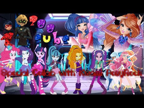 {LoliRock, Miraculous, Winx, MLP} - No Lie [Collab with Kwami PonyRock]
