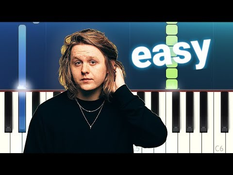 Lewis Capaldi - Someone You Loved (100% EASY PIANO TUTORIAL)