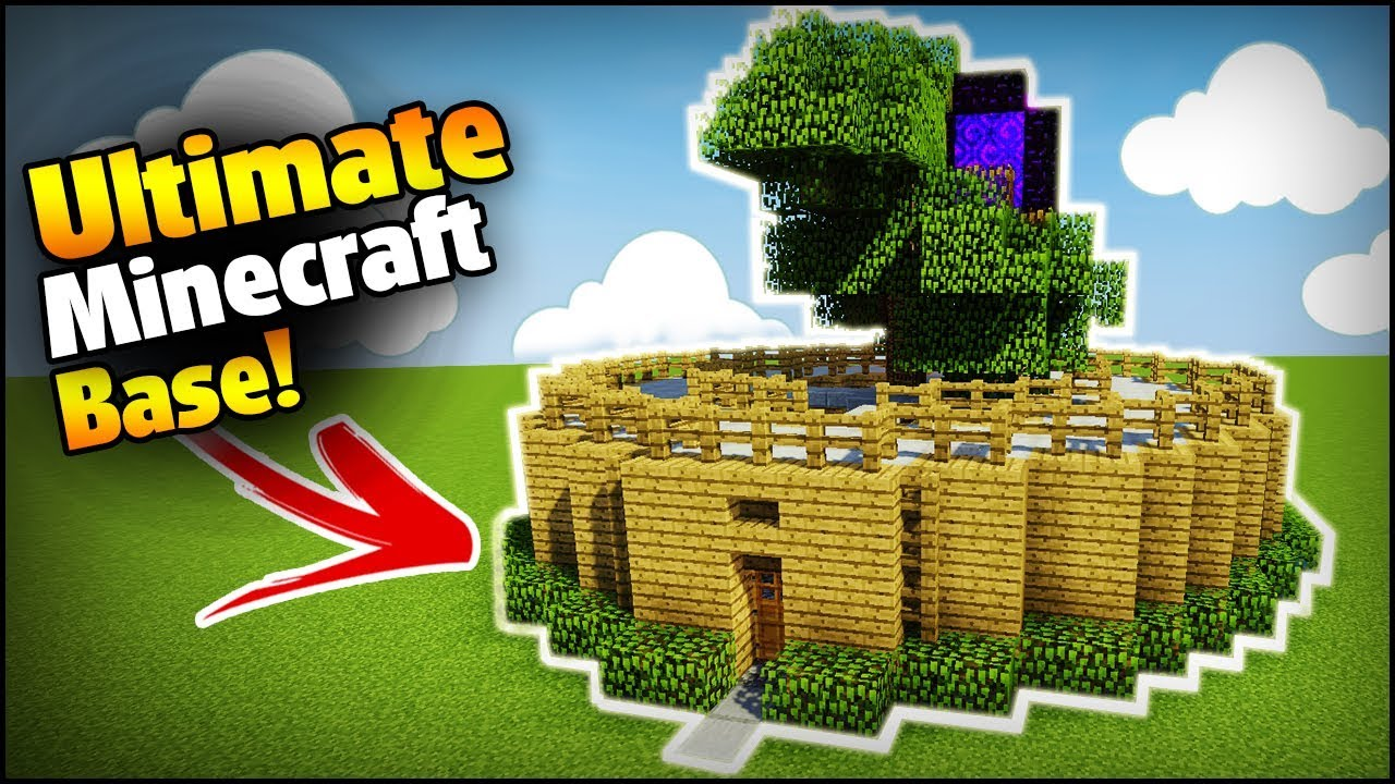 The Ultimate Minecraft Base - Minecraft how to build a survival base (Easy  Tutorial)