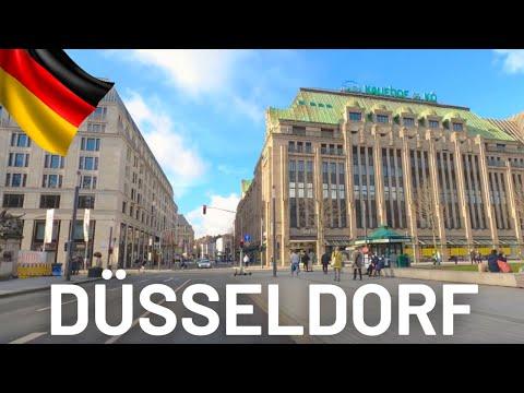 DUSSELDORF Driving Tour 2021 🇩🇪 Düsseldorf Germany 4K Video Tour