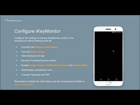 IKeyMonitor Android Monitoring App Installation Tutorial