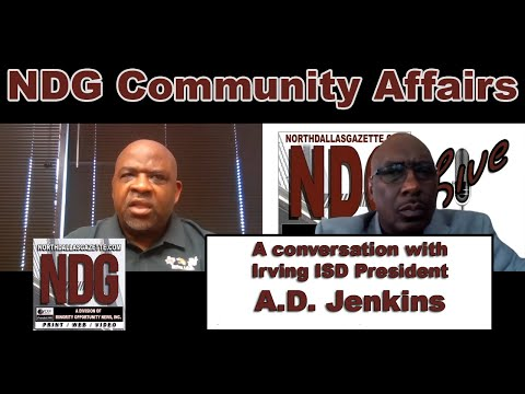 NDG Community Affairs (Ep. 3) A conversation with A.D.Jenkins