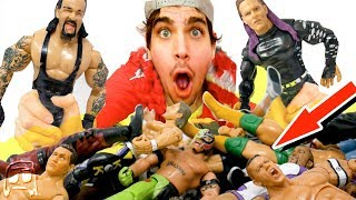 OVER 100 RARE WWE TOYS!! Old School Jakks & Mattel Collection Lost Treasure at THRIFT SHOP!! #2